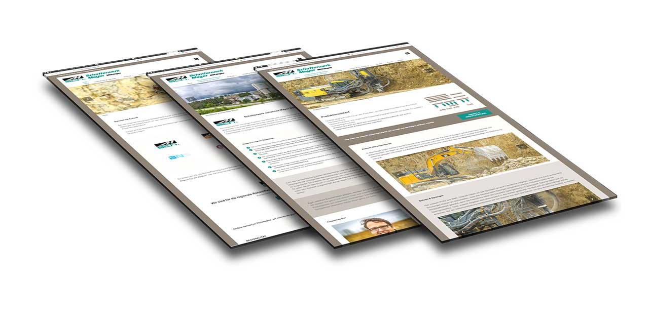 Portfolio Schotterwerk Mayer |Regionaler Rohstofferzeuger | Mötzingen | Webseite