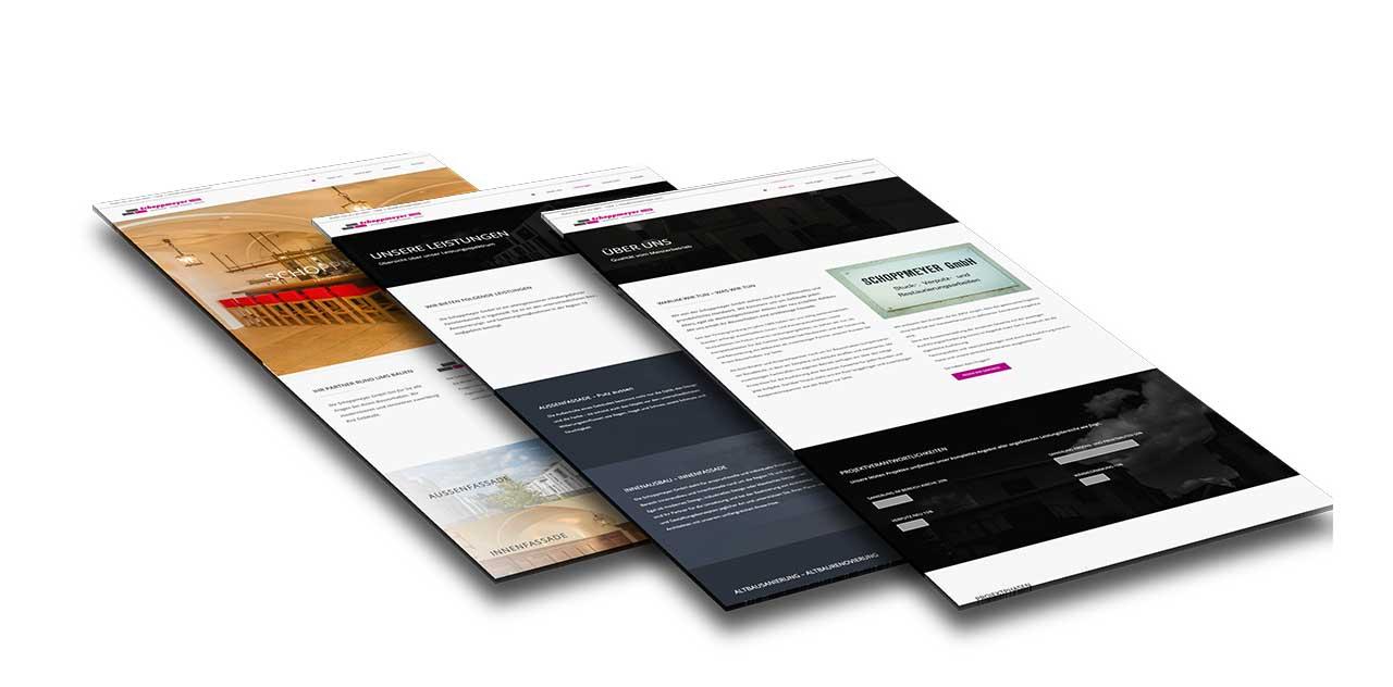 Portfolio Schoppmeyer GmbH |Ingolstadt | Webseite