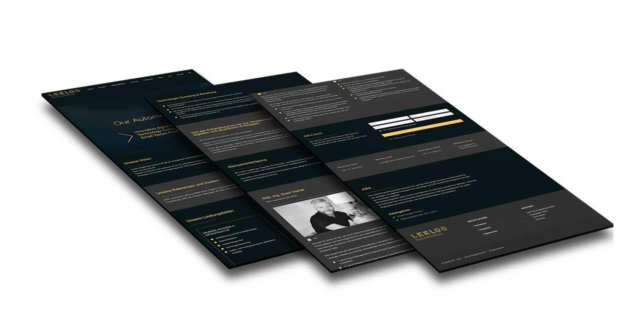 Portfolio Leeloo Engineering GmbH |Berlin | Webseite