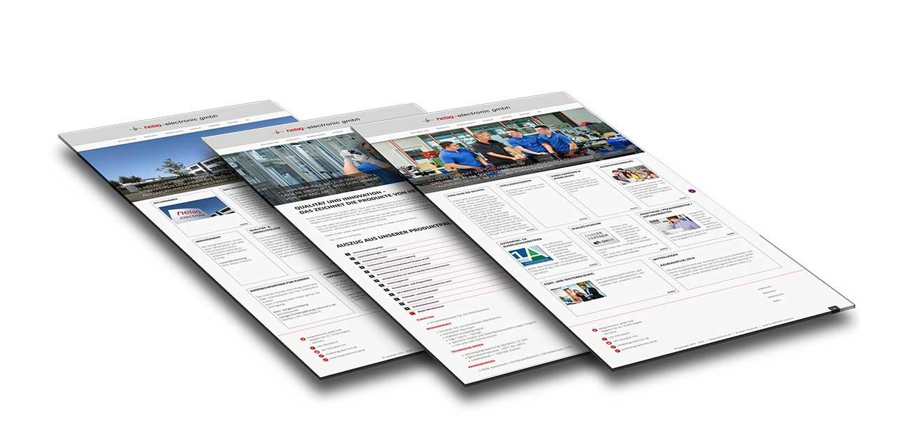 Portfolio helag electronic |Nagold bei Stuttgart | Webseite