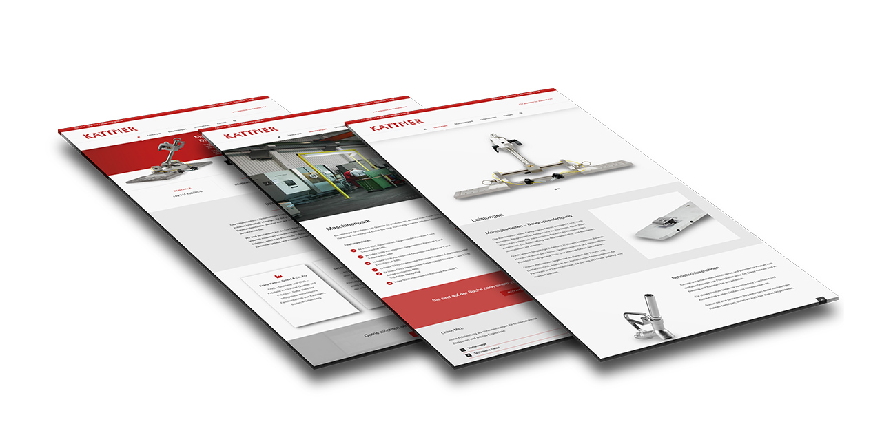 Portfolio Kattner GmbH |Esslingen | Webseite